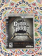 Guitar Hero: Metallica (Sony PlayStation 3, 2009)