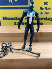 "Marvel Universe BLACK COSTUME SPIDER-MAN Hasbro 4"" NIGHT MISSION"