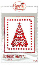 Feathered Christmas: Applique Wall Hanging Quilt Pattern