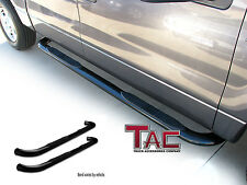 "TAC 1987-2006 JEEP WRANGLER (No Drilling) 3"" BLACK Side Step Nerf Bars"