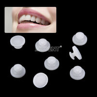 Dental Ortho Composite Ceramic Lingual Buttons for Bondable Round Base