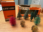 Lionel (Life-Like) Vintage Postwar LL22 Box Of Grass And Ll201 Trees