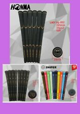Black High Quality Womens Golf Club Grips With Gold Print High Irons Wedges