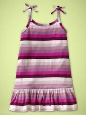 NWT BABY GAP GIRLS PURPLE STRIPED BUTTERFLY CANYON DRESS SIZE 5