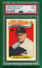 1989 Topps Tiffany Roger Clemens All-Star #405 Mint PSA 9