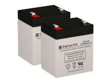 Pack of 2 - 12V 5AH SLA Batteries By SigmasTek