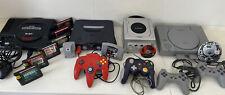 🚨Nintendo 64, Nintendo Gamecube, Sega Genesis, Sony Playstation Gamers Bundle