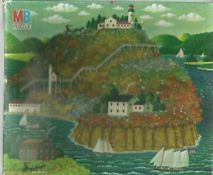 WARP IN WIND BAY BY CHARLES WYSOCKI - Complete - 1986 PUZZLE