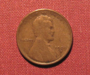1909-S LINCOLN WHEAT CENT - LOW MINTAGE, OLD CLEANING, PLEASE VIEW