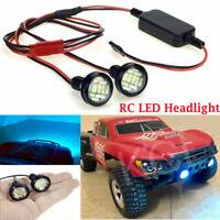 LED Scheinwerfer Leuchte + Transformer für RC Crawler Short Course Monster Truck