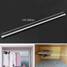 Net Curtain Tension Rods Twist Telescopic Extendable Spring Voile Pole Rail Rod 56-91cm