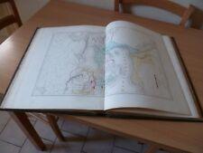 RARE ATLAS GEOGRAPHIQUE 1864 HISTOIRE EGLISE CATHOLIQUE A.H. DUFOUR 24 GRAVURES