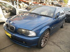 WRECKING 2001 BMW E46 325CI ENGINE TRANSMISSION PANELS INTERIOR