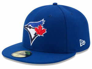 New Era Toronto Blue Jays GAME 59Fifty Fitted Hat (Royal Blue) MLB Cap
