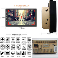 """7"""" Double 2Din Android 9.1 Car Stereo Radio BT GPS WiFi 3G/4G DAB TPMS Quad-core"""