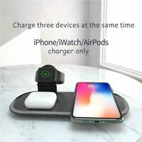 3 in 1 Fast Wireless Charger Dock Station Fast Charging For iPhone 12 12 Pro SE