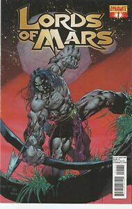 Lord Of Mars #1 - Exclusive Subscription Variant - Dynamite - 8.0