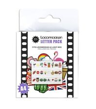 Locomocean COLOUR LETTERS NUMBERS & SYMBOLS Spare PACK 85 Pieces for A4 LIGHTBOX
