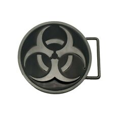 Biohazard Symbol Belt Buckle