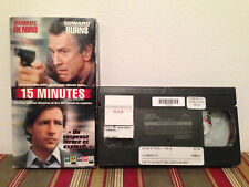 15 Minutes  VHS tape & sleeve FRENCH