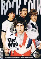 Rock & Folk  N°471  Novembre 2006:The who Beck Beastie boys Kooks Stranglers Chu