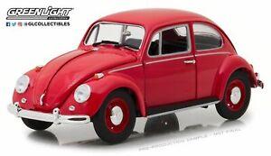 1/18 GREENLIGHT DIECAST 1967 RHD VW VOLKSWAGEN BEETLE CANDY APPLE RED #13511