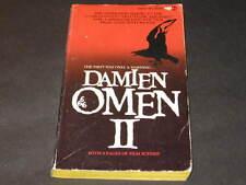 DAMIEN OMEN II BOOK WILLIAM HOLDEN LEE GRANT FOXWORTH PRYOR LEW AYRES SIDNEY OOP