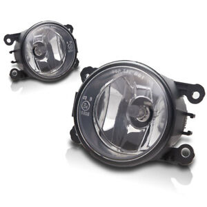 For 2014 Ram ProMaster Replacement Fog Lights Bumper Lamps - Clear