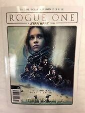 STAR WARS ROGUE ONE Official Collectors Edition MISSION DEBRIEF ULTIMATE GUIDE
