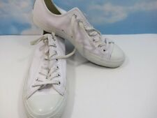 Converse All Stars Chuck Taylor WHITE LEATHER Men's 11 Women's Size 13 Fast Ship