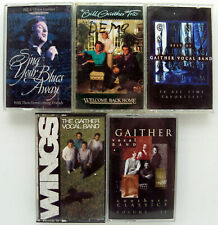 The Gaithers ( 5 cassette albums)