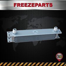 "Universal 7Row Aluminum Engine Transmission Oil Cooler AN-10 7/8""-14 UNF Silver"
