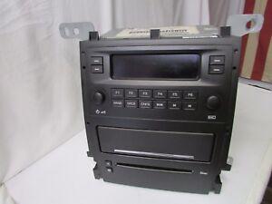2004-10 Cadillac STS  AM/FM, 6 Disc Changer Radio ~ Type GMX295 L2