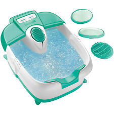 Foot Spa Heat Massage Bucket Relaxing Hydrotherapy Bath Rolling Bubbles Spa New
