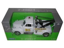 Welly 1953 Chevrolet Tow Truck Road Service White 1/24 Diecast Car 22086WMJ