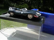 BRUMM 1/43 JAGUAR TYPE D N°3 1ere LE MANS 1957 Bueb/Flockhart !!!