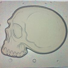Flexible Mold Skull Side View Resin Or Chocolate Mould