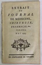 Science Medicine Medical Observations Carbon Dioxide Chemistry 1773 Rouelle