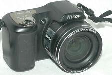 Nikon Coolpix L100 10.0MP Digital Camera - Black with bag