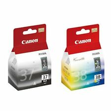 Canon PG37 Black CL38 Colour Ink Cartridge For PIXMA MP140 MP190 MX310 IP1800 BN