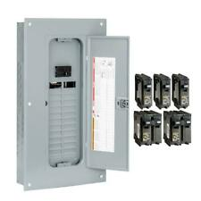 square d 100 amp panel in electrical panels \u0026 boards for sale ebaysquare d 100 amp 20 space 40 circuit indoor main breaker panel box
