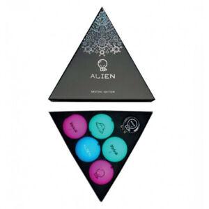 Volvik Alien Pack Golf Balls 5 Vivid Golf Balls + Ball Marker
