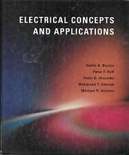 Electrical concepts and applications Stalin Boctor HB engineering c.1997 VGUC