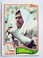 Elvin Bethea #94 Topps 1982 Football Card (Houston Oilers) VG
