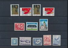 LL97647 Iceland mixed thematics fine lot MNH