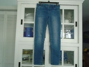 JUSTICE Girls size 14 Cute DENIM Jeggings