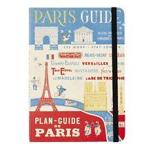 """Cavallini & Co. 5"""" X 7"""" Vintage Paris City Guide, Paris Trip Journal"""
