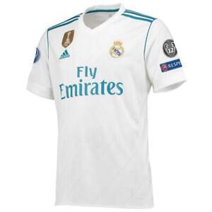 Real Madrid Soccer Jersey 17/18 Season adidas Champions League