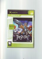 TIMESPLITTERS 2 - ORIGINAL XBOX FPS SHOOTER GAME Fast Post COMPLETE WITH MANUAL