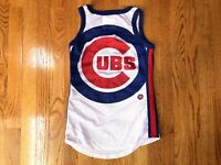 NEW Chicago Cubs MLB Baseball Mesh Tank Womens size XS G-III 4Her by Carl Banks